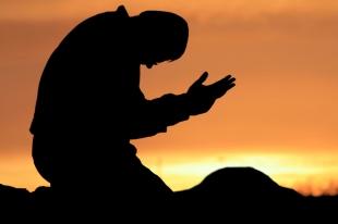 kneel prayer
